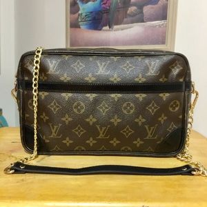 Louis Vuitton Compiegne 28 Shoulder Bag 💼 Black